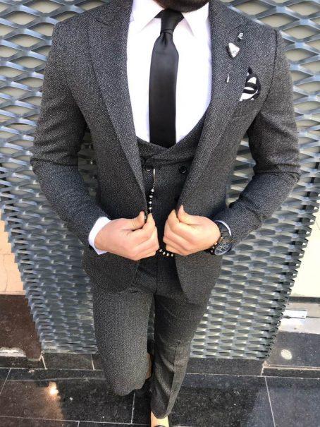Стильные мужские костюмы (коллекция 2021)