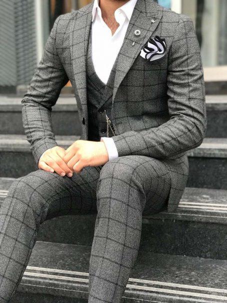 Мужские костюмы-тройка